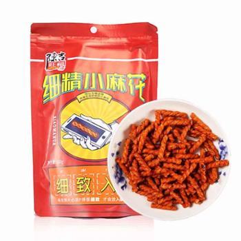 特产美食 陈吉旺福小麻花160G 传统糕点香脆可口零食小吃