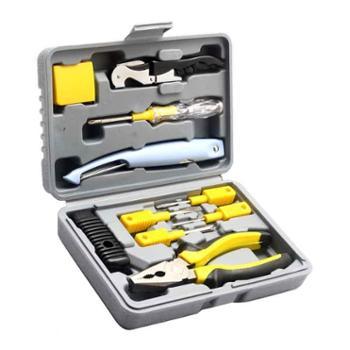 奥派克APK-8808五金工具套装11件套家用工具组套黄色