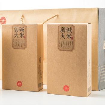 浩邦源 碱地有机大米5kg精品礼盒 送礼*