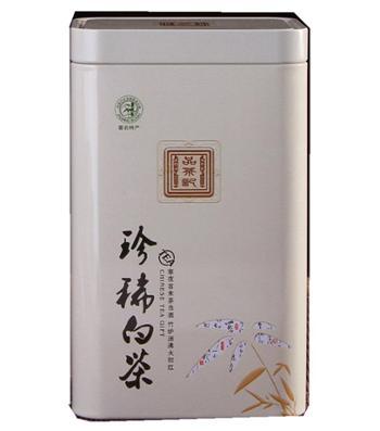 黄沙道中绿茶特级珍稀白茶100g明前高山白茶