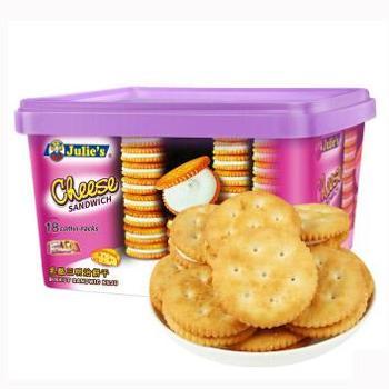 茱蒂丝 乳酪三明治饼干 504g/盒
