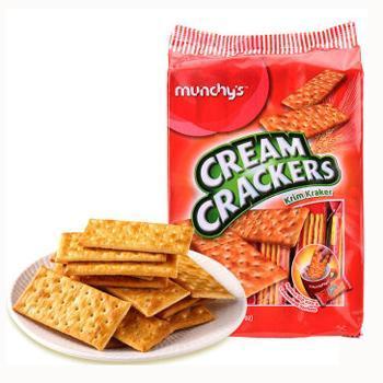 马来西亚进口 马奇新梳打饼干系列组合300g/4