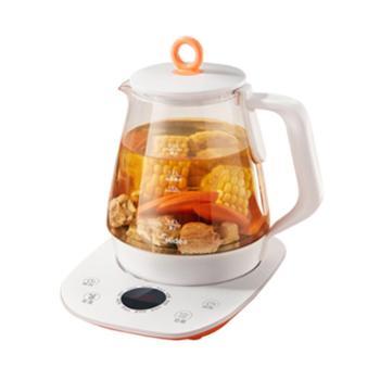 美的(Midea)MK-GE1506养生壶电水壶电热水壶烧水壶多功能花茶壶电茶壶煮水壶一机多用煮茶器1.5L