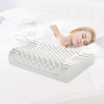 【泰国进口原装乳胶液】天然乳胶护颈枕乳胶枕