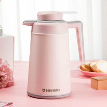 杯具熊欧式不锈钢家用保温壶大容量热水瓶保温瓶保温水壶暖壶
