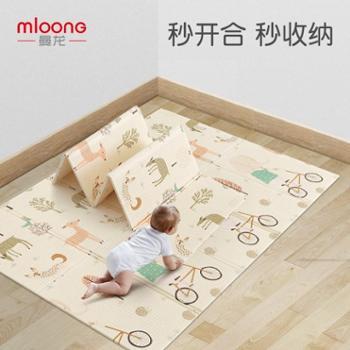 曼龙婴儿童XPE宝宝爬行垫加厚客厅家用便携可折叠爬行垫泡沫地垫