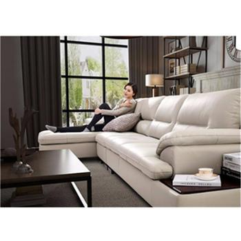 真皮沙发头层牛皮现代简约皮艺沙发客厅整装家具