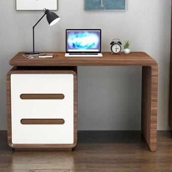 书桌北欧书桌简约台式电脑桌组合书桌