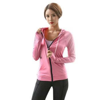 派衣阁显瘦瑜伽服三件套装女运动套装女跑步紧身裤健身房速干衣服T1071