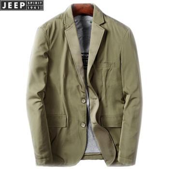 JEEP/吉普男士休闲小西装外套JPCS56005CM