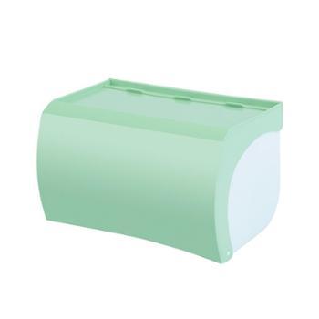 卫生间厕所纸巾盒卷纸筒抽纸厕纸盒防水卫浴室置物架手纸盒免打孔