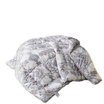 罗莱雅全棉秋冬被立体天鹅绒冬被加厚保暖被羽丝绒被芯被子