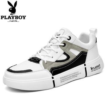 花花公子男鞋子运动休闲鞋夏季男鞋潮流韩版小白板鞋