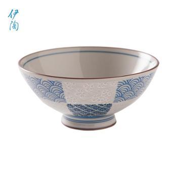 伊陶日式家居饭汤面多用家用碗/个