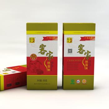 金良稻丰 客家丝苗米 长粒香米食用家庭米 富硒绿色大米0.5kg
