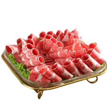 额尔敦 牛肉卷280g内蒙古锡盟草原散养火锅食材肥牛卷