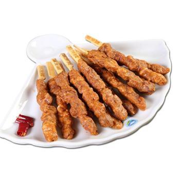 额尔敦 孜然味腌制烧烤食材羊肉串480g*2袋内蒙古清真新鲜羊肉串