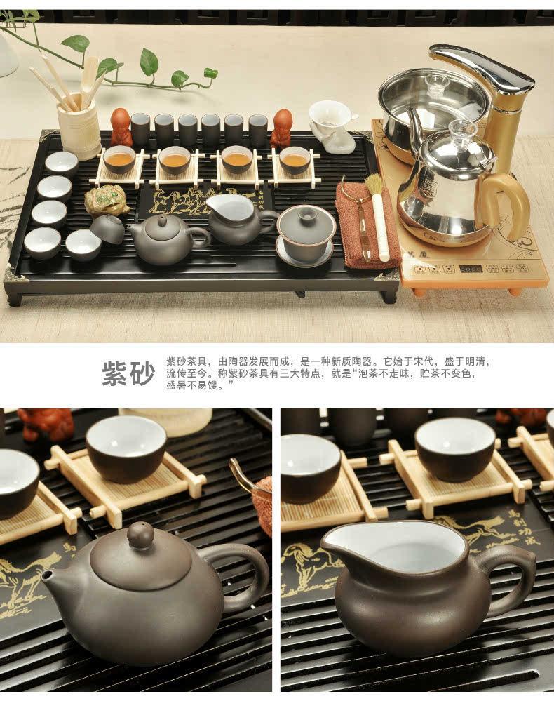 家用茶桌茶具摆放图片