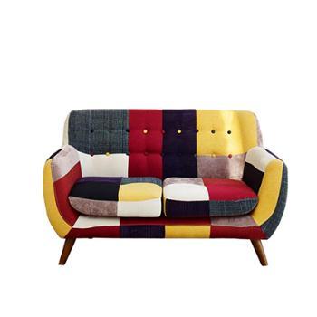 北欧小户型客厅家具单人双人三人卧室布艺懒人小沙发椅子简约现代