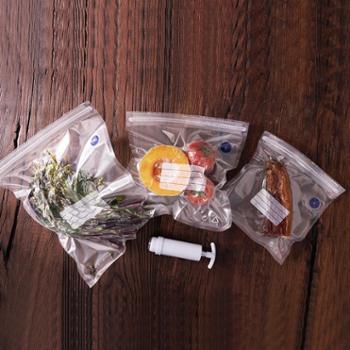 一款 真空保鲜袋包装袋抽气密封袋家用食品压缩袋透明水果自封袋子冷热