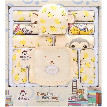 班杰威尔 新生儿衣服纯棉婴儿礼盒套装初生宝宝服装母婴用品