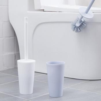 素雅马桶刷套装卫生间清洁刷厕所无死角刷子长柄软毛洁厕刷