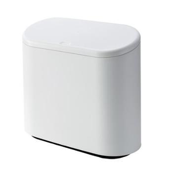 北欧家用日式简约卫生间厨房大号有盖按压式分类垃圾桶