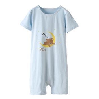 儿童睡袋春夏薄款分腿睡衣KIDS男童女童分腿睡衣家居服
