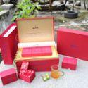 纱坦太阳红-红茶-紫红色礼盒 型号:3*50g(10*5g)