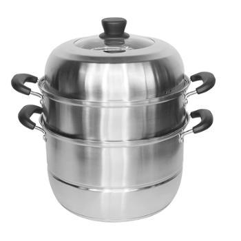 欧锐铂普拉特三层组合蒸锅
