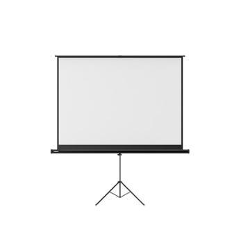 极米100英寸16:10支架幕布高清白塑投影仪幕布可兼容16:9和4:3