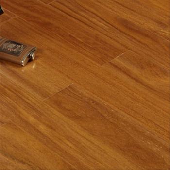 木臣一品进口天然原木纯实木地板E0级环保香二翅豆龙凤檀18mm