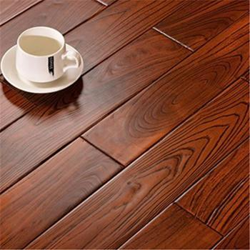 卧室家用木地板 榆木纯实木地板 760*95*18mm