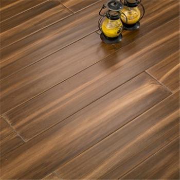 纯实木地板 小叶卡罗全实木地板 地暖地热锁扣地板 原木漆/900*112*18mm/锁扣地热