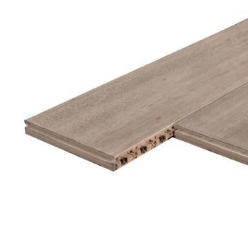 欢韵 纯实木地板原木锁扣 南洋胡桃木 家用 910*123*18mm