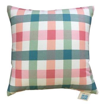 时尚靠枕 沙发抱枕多色简约风护腰靠垫正方形北欧