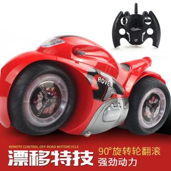 宜乐玩具遥控车摩托车特技高速漂移车