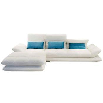 现代真皮沙发组合头层牛皮大小户型转角简约客厅北欧皮艺沙发