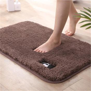 高毛超细纤维浴室卫生间吸水地垫地毯卧室柔软防滑脚垫