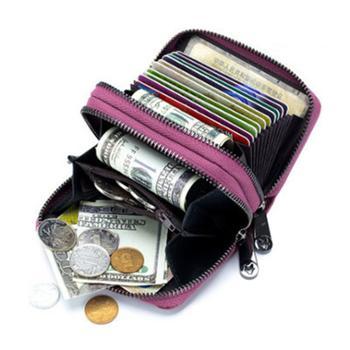 双拉多卡位女士零钱包