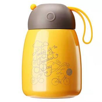 OPUS韩版保温杯女小巧便携保冷学生儿童迷你可爱不锈钢大肚水杯子