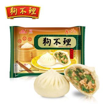 天津狗不理手工猪肉韭菜包420g/12个