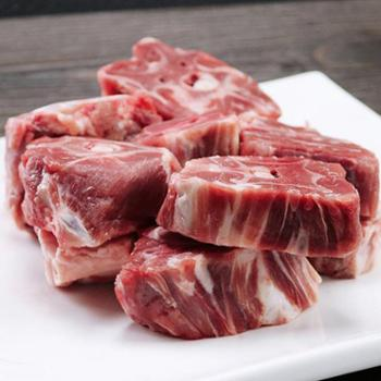 稻谷泉羊蝎子新鲜脊骨羊肉火锅农家自散养美味羔羊肉5斤