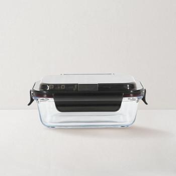 网易严选便携含餐具高硼硅玻璃保鲜盒 两种规格,便携餐具