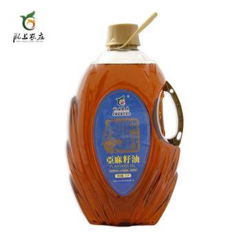 纯土工艺土榨浓香亚麻籽油5升