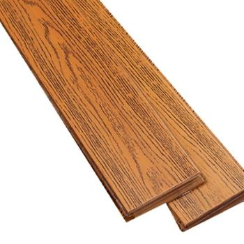 伐木时光纯实木地板 圆盘豆实木 金色