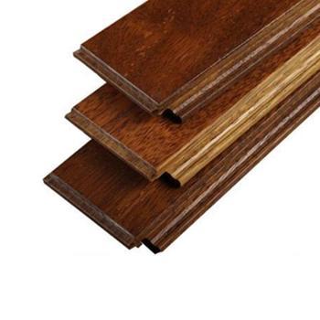 伐木时光 圆盘豆本色 纯实木地板