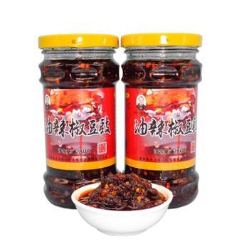 贞丰县马氏丰味豆豉油辣椒280g*2瓶