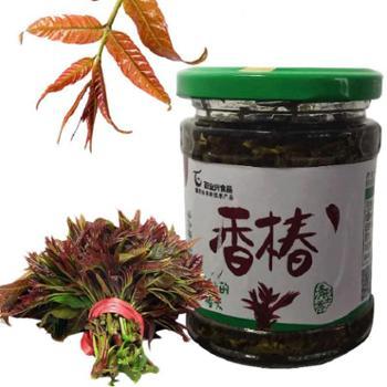 百业兴食品香椿酱菜175克/瓶*2瓶
