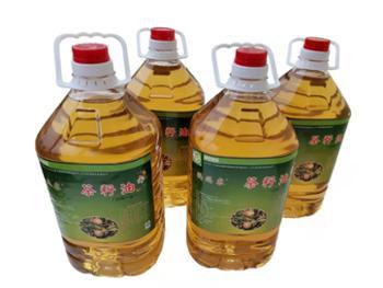 鹦鹉寨武汉绿林茶籽油100%纯茶籽油5L/瓶4瓶/箱